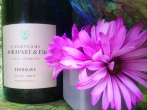 champagne with flower 2
