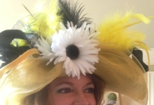 derby hat yellow