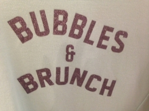 bubbles and brunch