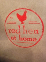Red Hen at Home