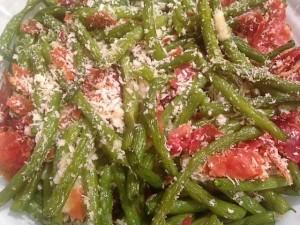 green-beans-serving
