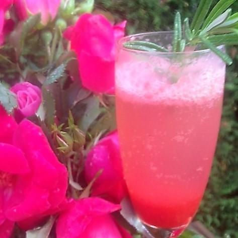 mimosa strawberry