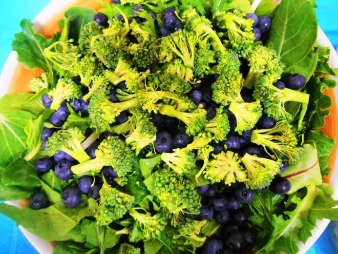 Christinas blueberry salad