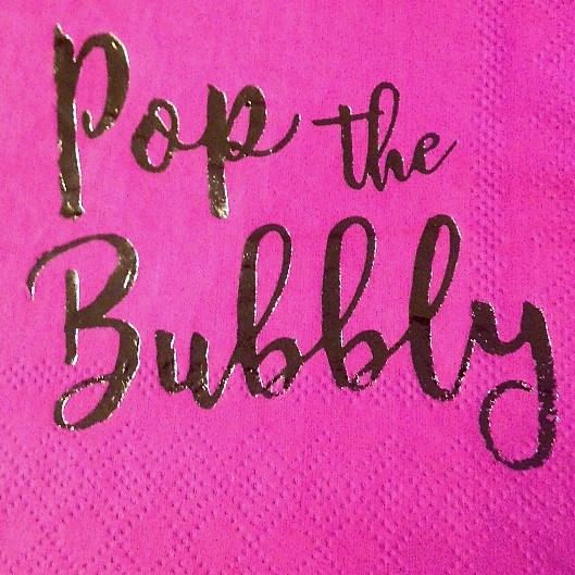bubbly sign