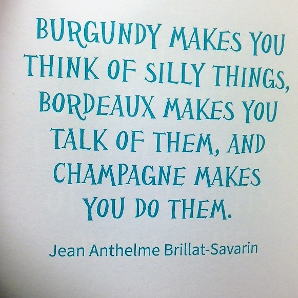 champagne sign savarine