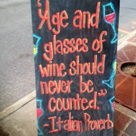 Wine sign Fortunato