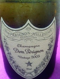 2005 Dom champagne