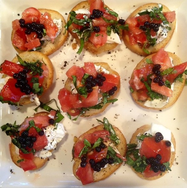 balsamic brushetta
