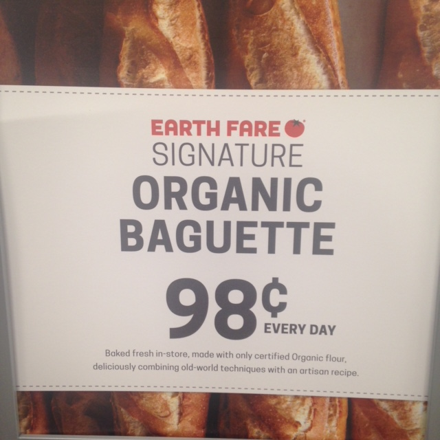 EF Baguette sign