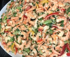 Ef shrimp salad