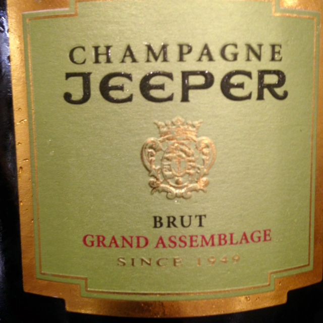 Jeeper champagne