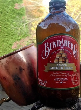mug with ginger beer