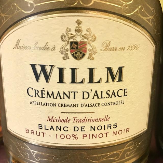 willm sparkling wine