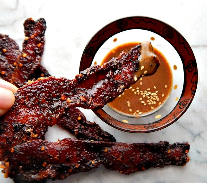 Millionaire's Bacon - sweet, salty, spicy deliciousness.