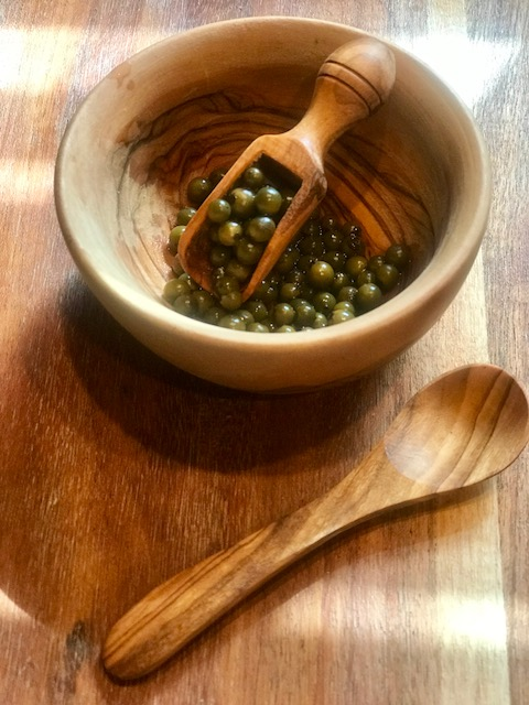 green peppercorn bowl